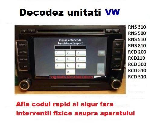 decodez playere si navigatii vw rcd 310 rcd 510 rns 300. Black Bedroom Furniture Sets. Home Design Ideas
