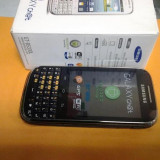 Telefon mobil Samsung B5330 Galaxy Chat, Black - Telefon Samsung, Negru, 4GB, Neblocat, Single SIM, Quad core
