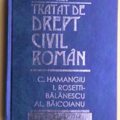 TRATAT DE DREPT CIVIL ROMAN C.Hamangiu volumul 2 Editia 1998 - Carte Drept civil