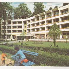 Carti Postale Romania dupa 1918 - Bnk cp Baile Moneasa - Hotel Parc - necirculata