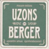 Cartonas de colectie - Suport de pahar / Biscuite UZONS BERGER