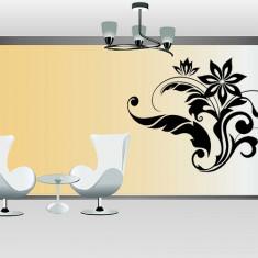 Tapet - Floral_Tatuaj de perete_Stickere Décor_WALL-537-Dimensiune: 70 cm. X 85 cm. - Orice culoare, Orice dimensiune