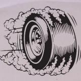 Roata_Sticker Auto_Tuning_CDEC-095-Dimensiune: 20 cm. X 17 cm. - Orice culoare, Orice dimensiune
