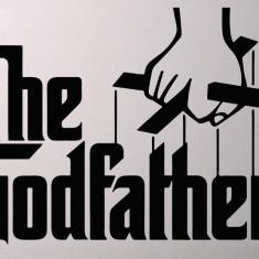 The Godfather_Tatuaj De Perete_Sticker Decorativ_WALL-158-Dimensiune: 15 cm. X 11.1 cm. - Orice culoare, Orice dimensiune
