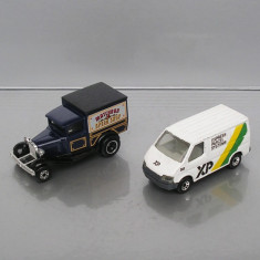 Ford Model A + Ford Transit, Matchbox Superfast - Macheta auto