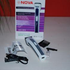 Aparat de Tuns - Masina de tuns Aparat Trimmer barbierit cu acumulator Nova NHC-3915