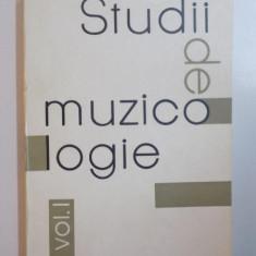 STUDII DE MUZICOLOGIE, VOL. I, 1965 - Muzica Dance