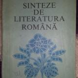 Manual scolar, Romana - Carte de Sinteze de Literatura Romana