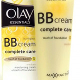Crema de fata Olay Essentials BB Cream Complete Care with Touch of Foundation by Max Factor - Medium