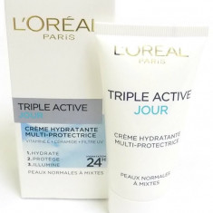 Cremă de față L'Oreal Paris Dermo Expertise Triple Active Combination Skin, Mixt