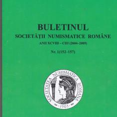 Bnk sc Buletinul Societatii Numismatice Romane 2004-2009, stare perfecta
