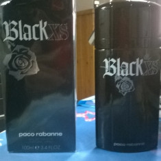 Vand Paco Rabanne Black XS 100 ml - Parfum barbati, Apa de toaleta, Lemnos oriental
