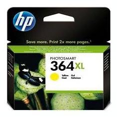 HP Toner Original inkjet Yellow CB 325EE Nr. 364XL, cartus nou, sigilat - Cerneala imprimanta