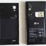 LG Optimus L9 P760 - Telefon mobil LG Optimus L9, Negru, Neblocat