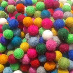 Handmade - Bile de lana impaslita