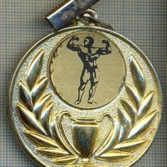 Medalii Romania - ATAM2001 MEDALIE 123 - SPORTIVA - CULTURISM -starea care se vede