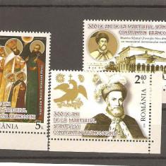 Timbre Romania - LP 2035 -Sfintii martiri Brancoveni-nestampilat 23