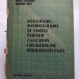 DIAGRAME, NOMOGRAME SI TABELE PENTRU CALCULUL LUCRARILOR HIDROEDILITARE - M. GIURCONIU, I. MIREL - Carti Constructii