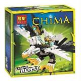 Legend Beast Eagle, joc de construit pentru baieti tip LEGO Legends of Chima Eris, calitate super, compatibil 100% cu LEGO, 103 piese, Bela 10069, NOU - Jocuri Seturi constructie
