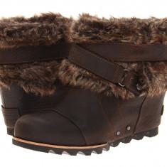 Boots femei SOREL Joan Of Arctic Wedge Ankle™ | 100% originali | Livrare cca 10 zile lucratoare | Aducem pe comanda orice produs din SUA - Cizme dama