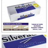 2.000 tuburi de tigari SILVERADO Multifiltru carbon activ pentru injectat tutun - Foite tigari