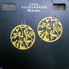 Cercei Fashion - Cercei statement ZARA noi! pret magazin 60 ron!