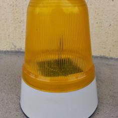 Lampa semnalizare stroboscop 22, 5 cm inaltime - Girofar Auto