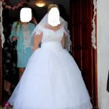 Rochie de mireasa marime mare - Rochie de mireasa printesa