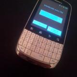 Motorola Fire XT311 (Android, Tastatura + Touchscreen) - Telefon Motorola, Alb, <1GB, Neblocat, Single SIM, Single core