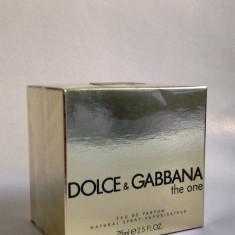 Dolce Gabbana The One Eau De Parfum-dama, 75 ml - Replica calitatea A ++ - Parfum femei Dolce & Gabbana, Apa de parfum