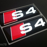 Emblema Logo AUDI S4 - expediere gratuita Posta - sell by Phonica
