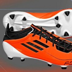 Ghete profesionale adidas f50 adizero - Ghete fotbal, Orange, Barbati