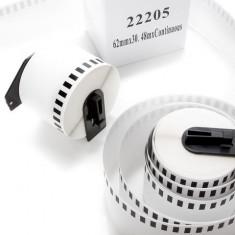 Etichete Role Benzi Termice Brother DK22205, DK 62mm, DK 2-3/7