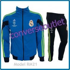 Trening ADIDAS REAL MADRID - Bluza si pantaloni conici - Modele noi Pret Special - Trening barbati, Marime: S, M, L, XL, XXL, Culoare: Din imagine