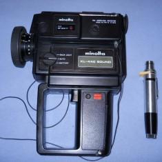 CAMERA DE FILMAT MINOLTA XL-440 SOUND CU MICROFON - Aparat Foto cu Film Konica Minolta
