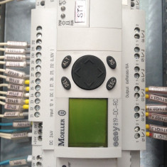 Vand automat programabil Moeller Easy819-DC-RC plus extensie - Intrerupator