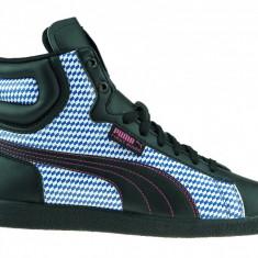 Ghete Puma First Round - LICHIDARE DE STOC - nr 40 - Adidasi dama Puma, Culoare: Negru, Piele sintetica