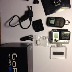 Gopro HERO3+ Black Edition cu accesorii.Stare impecabilă.Utilizat niste săptămâni, Are garantie de 24 luni. - Camera Video Actiune