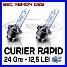 Bec xenon auto BOORIN - BEC BECURI XENON D2S - BIXENON ADAPTIV - 4300K, 6000K, 8000K