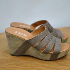 Pantofi dama - PAUL GREEN SABOTI DE PIELE MARIMEA 39