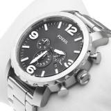 Ceas barbatesc Fossil, Fashion, Quartz, Inox, Inox, Cronograf - FOSSIL JR1353 Nate Chronograph ! ! ! Produs nou ! ORIGINAL !
