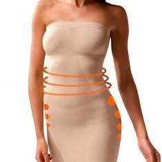 Rochie modelatoare - art. 810130 bej - Lenjerie modelatoare dama Body Effect, Marime: L, XL