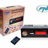 Resigilat - Radio MP3 player auto PNI Clementine 8210 USB slot SD fata detasabila, telecomanda