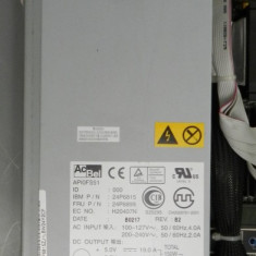SURSA SERVER IBM X-SERIES ACBEL 24P6815 24P6899 API0FS51 200W POWER SUPPLY
