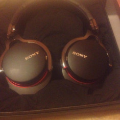 Căști Sony MDR-1R, Casti On Ear, Cu fir, Jack 3, 5mm, Active Noise Cancelling