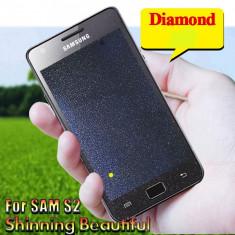 FOLIE SAMSUNG GALAXY S2 i9100 / S2 PLUS i9105 clara DIAMOND - Folie de protectie Samsung, Lucioasa