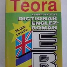 Dictionar englez/roman 35000 cuvinte - A. Bantas / R3P2F Altele