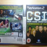 CSI - 3 Dimensions of murder  - JOC PS2 Playstation - GameLand