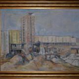 Tablou, An: 1964, Peisaje, Ulei, Altul - DIMITRIE LOGHIN - Pictura - Ulei pe panza 1 - Profesorul lui Ion Grigore - 1964!