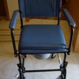 Scaun WC cu roti - Scaun cu rotile